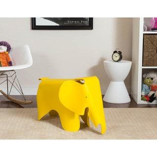 Somette Gavins Room Yellow Elephant Chair