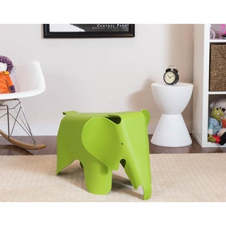 Somette Gavins Room Green Elephant Chair