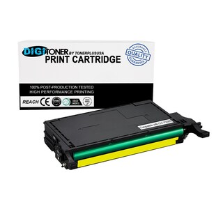 1Pk Compatible Samsung CLT-Y508S YELLOW Color Toner Cartridge for Printers CLP-620ND, CLP-670ND, CLP-670N, CLX-6220FX CLX-6250FX