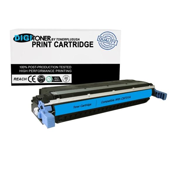1PK Compatible HP 645A C9731A CYAN Color Laser Toner Cartridge For 5500 Models