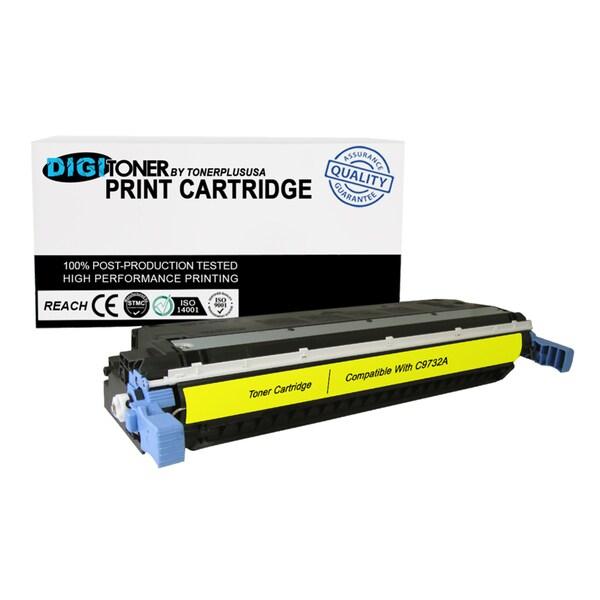 1PK Compatible HP 645A C9732A YELLOW Color Laser Toner Cartridge For 5500 Models