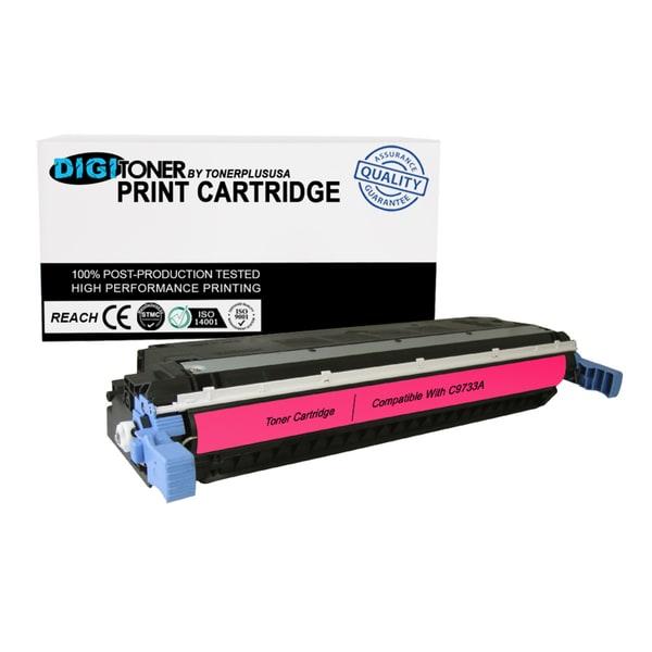 1PK Compatible HP 645A C9733A MAGENTA Color Laser Toner Cartridge For 5500 Models
