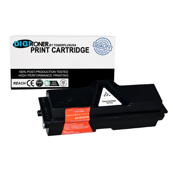 1PK Compatible Kyocera TK-132 BLACK Laser Toner Cartridge For FS-1028mfp FS-1128mfp FS-1300D FS-1350DN