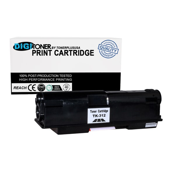1PK Compatible Kyocera TK-312 BLACK Laser Toner Cartridge For FS-2000D, FS-2000DN