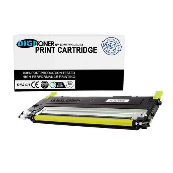 1PK Compatible Samsung CLT-Y409 YELLOW Color Toner Cartridge for Printers CLX-3175FN, CLX-3175FW CLP-310 CLP-315 Series