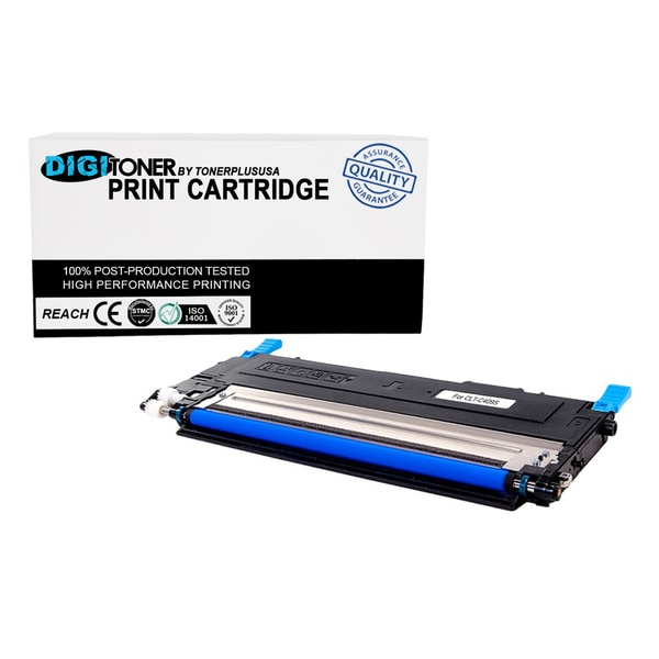 Compatible Samsung CLT-C409 CYAN Color Toner Cartridge for Printers CLX-3175FN, CLX-3175FW CLP-310 CLP-315 Series