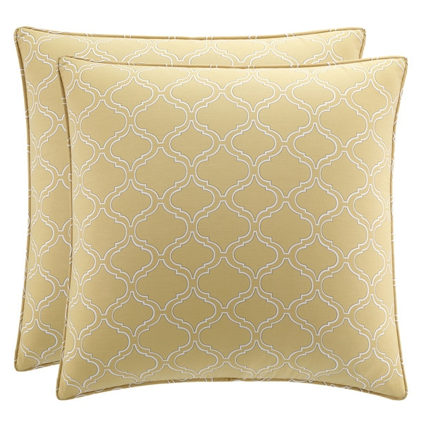 Stone Cottage Savannah Straw European Sham Set