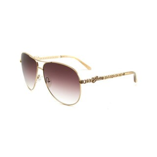 Guess Women's GU7032 Aviator Sunglasses