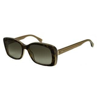 Fendi 0002 Women's Rectangular Sunglasses