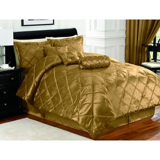 Braxton Gold 7-piece Comforter Set
