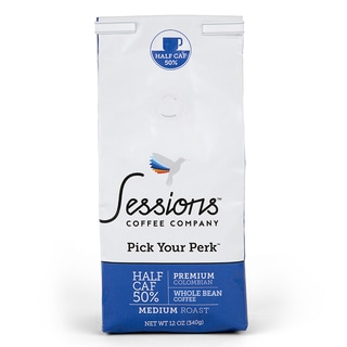 Sessions 50-percent Half Caf (Whole Bean)