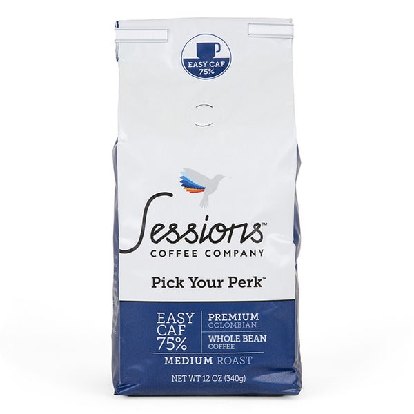 Sessions 75-percent Easy Caf (Whole Bean)