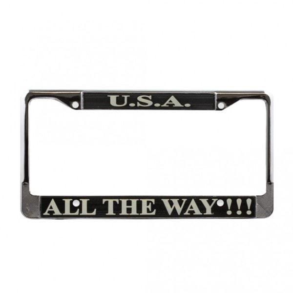 USA Patriotic License Plate Frame