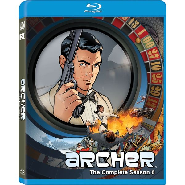 Archer: Season 6 (Blu-ray Disc) 17220001