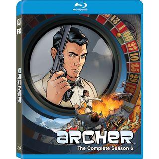 Archer: Season 6 (Blu-ray Disc)