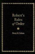 Robert's Rules of Order: Pocket Manual of Rules of Order for Deliberative Assemblies (Hardcover)