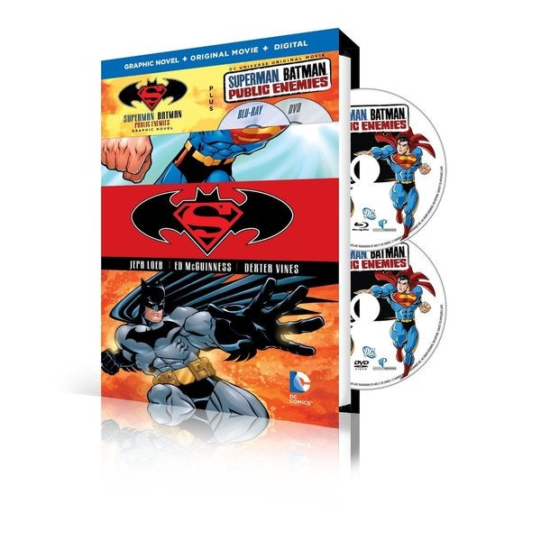 Superman/Batman: Public Enemies w/ Superman/Batman Vol. 1: Public Enemies Graphic Novel (DVD) 17223163