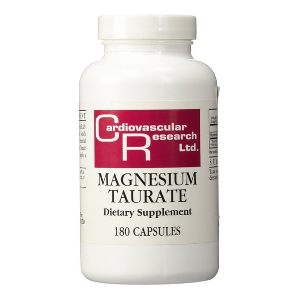 Cardiovascular Research Magnesium Taurate 125 mg (180 Capsules)