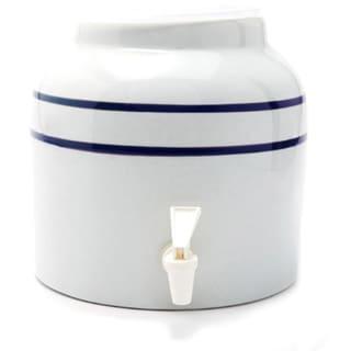Bluewave Blue Stripe Water Dispenser Crock (2.5-gallon)