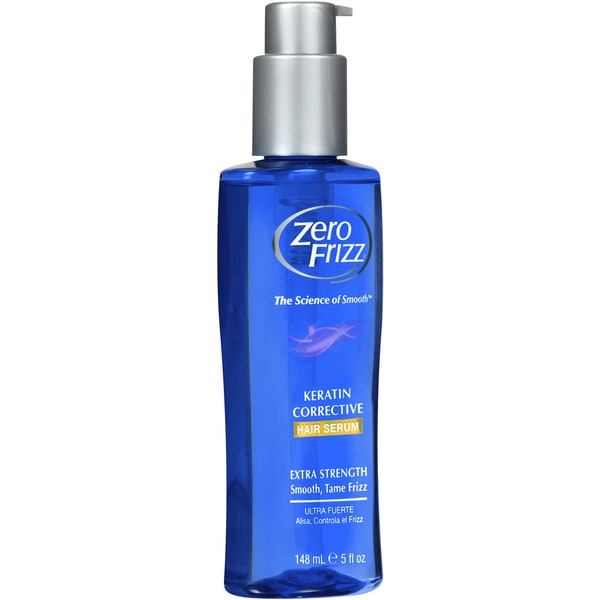 Zero Frizz Keratin Corrective 5-ounce Hair Serum