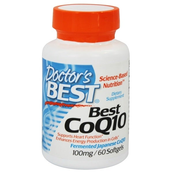 Doctor's Best Best CoQ10 100 mg (60 Softgels)