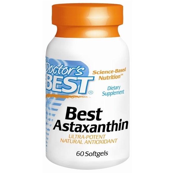 Doctor's Best Astaxanthin (60 Softgels)