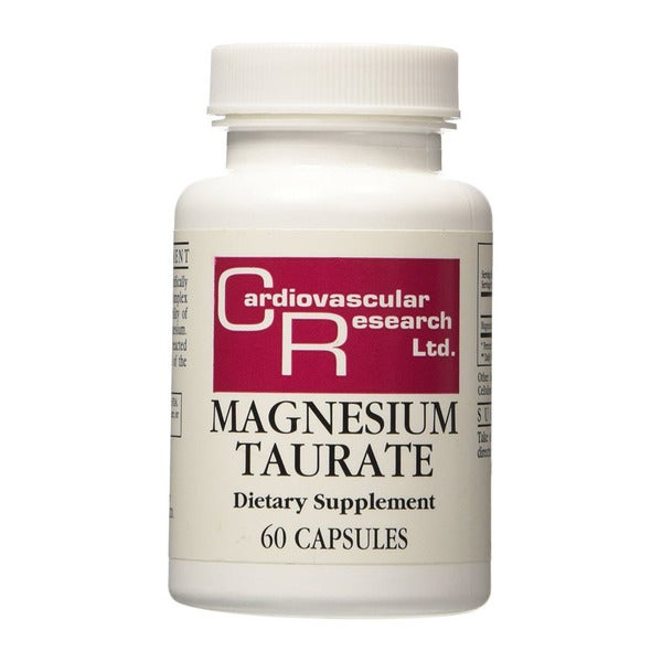 Cardiovascular Research Magnesium Taurate Capsules (60 Count)