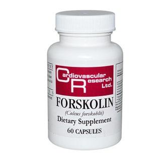 Cardiovascular Research Forskolin (Coleus Forskohlii) (60 Capsules)