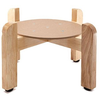 Bluewave Natural Wood Counter Stand