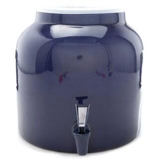 Bluewave Solid Blue Water Dispenser Crock (2.5-gallon)