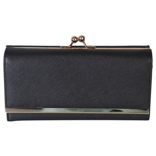 Rimen & Co. Saffiano PU Leather Wallet