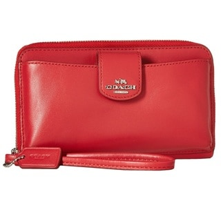 Coach Smooth Leather Universal Pocket Wallet