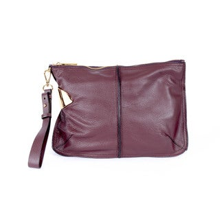 Halston Heritage Large Leather Wristlet