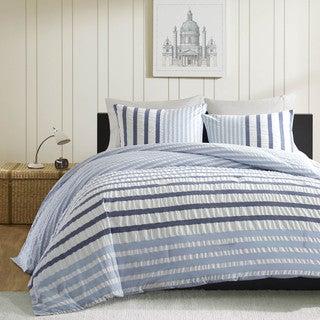 Ink+Ivy Blue Sutton Comforter 3-piece Set