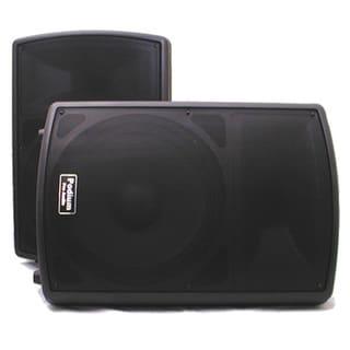 Podium Pro PP1502A PA DJ Karaoke 1800 Watt Powered Active 15-inch Speaker Pair PP1502A-PR