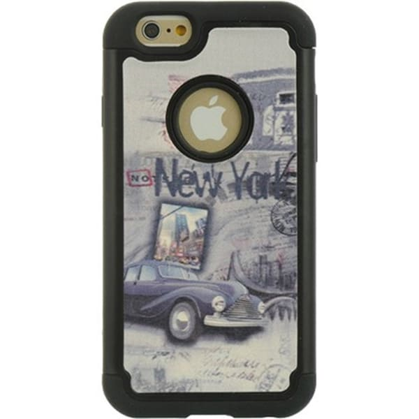 New York City Apple iPhone 6 / 6S Luxmo Hybrid Case