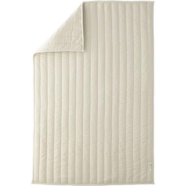 Greenbuds Organic Cotton Crib Comforter with Wool Fill