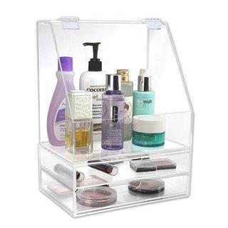Ikee Design Premium Acrylic Cosmetic Organizer Case