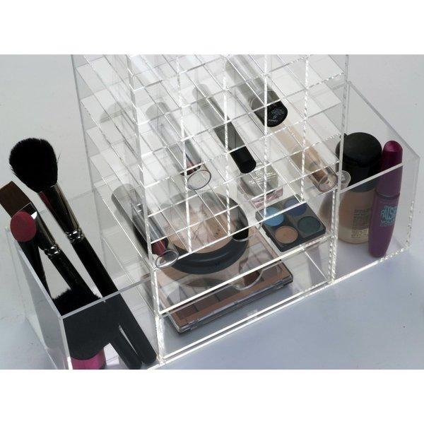 Ikee Design All-In-One Premium Acrylic Cosmetic Organizer Unit