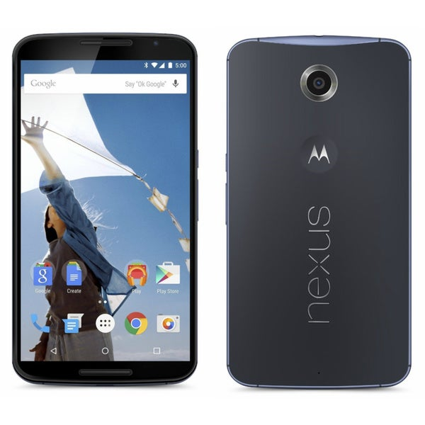 Motorola Nexus 6 XT1103 (AT&T) 32GB Android GSM Unlocked Midnight Blue Smartphone