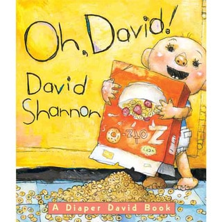 Oh, David! (Board book)
