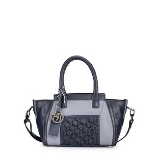 Phive Rivers Women's Handbag (Grey/Navy) (PR1033)