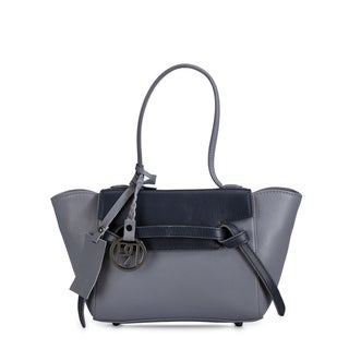 Phive Rivers Women's Satchel Bag (Grey) (PR1053)