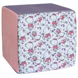 Koala Foam Pink Baby Bears 15-inch Cube