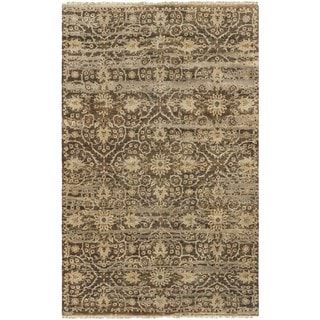 Hand Knotted Fowler Wool Rug (5'6 x 8'6)