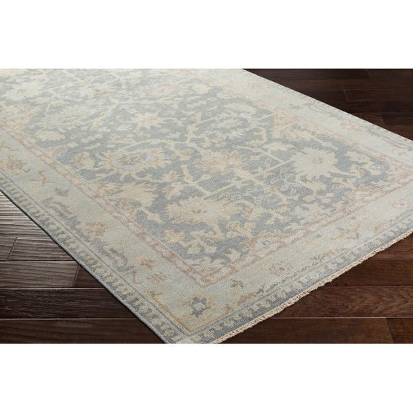 Hand Knotted Goodwin Wool Rug (5'6 x 8'6)