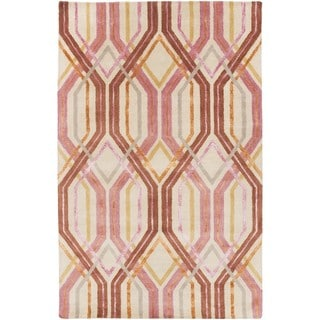 Hand Tufted Gate Wool/Viscose Rug (8' x 11')