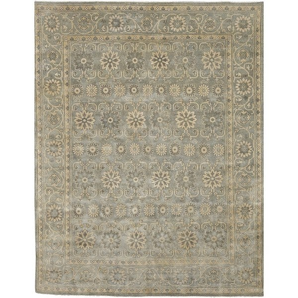 Hand Knotted Gade New Zealand Wool Rug (2' x 3')