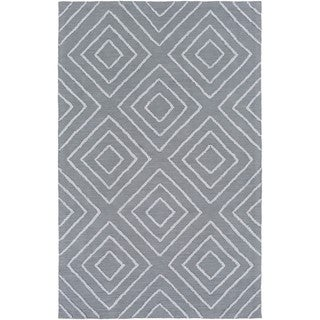 Hand Hooked Gower Cotton/Viscose Rug (9' x 13')