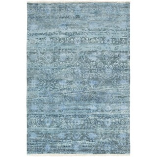 Hand Knotted Fowler Wool Rug (9' x 13')